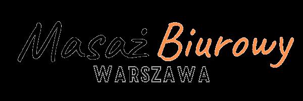 Masaż Biurowy Warszawa logo - transparent